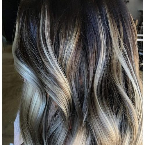 Low light balayage
