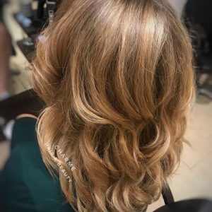 Kapsalon charme - balayage highlights