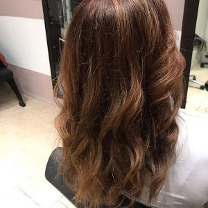 Kapsalon charme - highlights donker